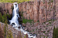 North Clear Creek Falls near Creede, Colorado.