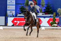 LIVANOS Theodora (GRE), Robinvale<br /> München - Munich Indoors 2019<br /> Preis der Liselott und Klaus Rheinberger Stiftung<br /> Grand Prix de Dressage (CDI4*) <br /> Wertungsprüfung MEGGLE Champion of Honour,<br /> Qualifikation für Grand Prix Special<br /> 22. November 2019<br /> © www.sportfotos-lafrentz.de/Stefan Lafrentz