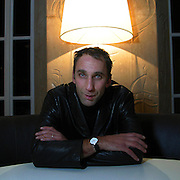 Will Self, Writer, Guest speaker at the 5th anniversary party of Shelterline, held at the Royal Institute of British Architects.