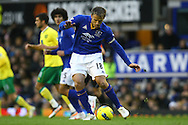 Picture by Paul Chesterton/Focus Images Ltd.  07904 640267.17/12/11.Phil Neville of Everton in action during the Barclays Premier League match at Goodison Park Stadium, Liverpool.
