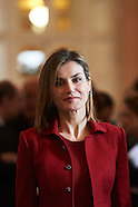 021016 Queen Letizia visits Palacio Real in Madrid