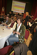 Bridget Cockerell, THE RAPT QUIZ, 13 November  2006, Hammersmith Town Hall. ONE TIME USE ONLY - DO NOT ARCHIVE  © Copyright Photograph by Dafydd Jones 66 Stockwell Park Rd. London SW9 0DA Tel 020 7733 0108 www.dafjones.com
