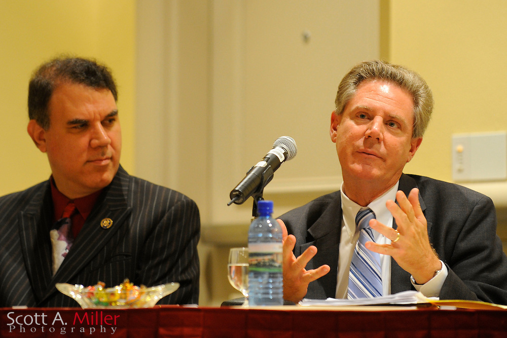ORLANDO, FLORIDA, August 20, 2009 : Health Care Forum at Rosen Shingle Creek Resort in Orlando, Fla..Featuring U.S. Rep. Frank Pallone Jr. (D-N.J.), Alan Grayson (D-Florida) and Hotelier Harris Rosen...© 2009 Scott A. Miller