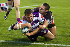 Auckland - Rugby League - Warriors v Storm