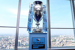 The Gallagher Premiership Rugby Trophy - Mandatory by-line: Robbie Stephenson/JMP - 06/07/2018 - RUGBY - BT Tower - London, England - Gallagher Premiership Rugby Fixture Launch