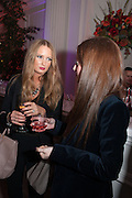 FLORINDA CAREY; ROSIE FORTESCUE , Leonie Frieda book party  for ' The Deadly Sisterhood.' The Orangery, Kensington Palace. London. 20 November 2012.
