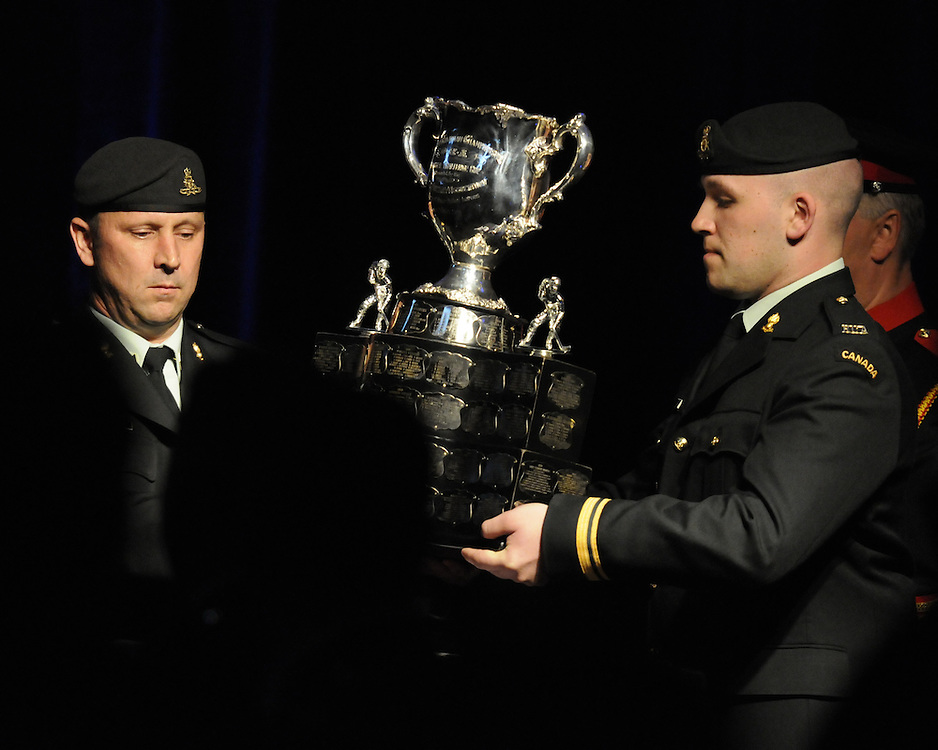 The opening banquet of the 2010 MasterCard Memorial Cup in Brandon, MB on Thursday May 13, 2010. Photo by Aaron Bell/CHL images
