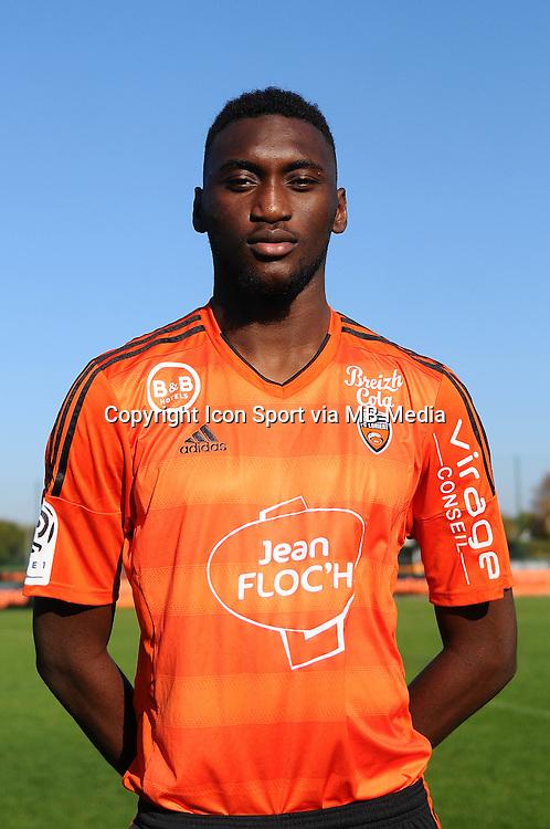 Hamadou Karamoko - 02.11.2015 - Portrait Officiel Lorient<br /> Photo : Philippe Le Brech / Icon Sport