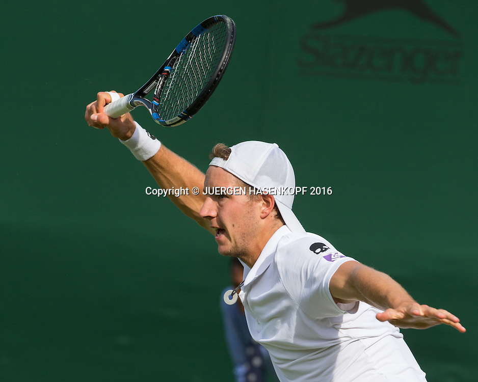 Jan-Lennard Struff (GER)<br /> <br /> Tennis - Wimbledon 2016 - Grand Slam ITF / ATP / WTA -  AELTC - London -  - Great Britain  - 27 June 2016.
