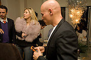 NADJA SWAROVSKI; CRAIG ROBINS , Fendi dinner at the home of Craig Robins. Part of Design Miami.  219 Aqua Terrace. Miami. 3 December 2008 *** Local Caption *** -DO NOT ARCHIVE -Copyright Photograph by Dafydd Jones. 248 Clapham Rd. London SW9 0PZ. Tel 0207 820 0771. www.dafjones.com