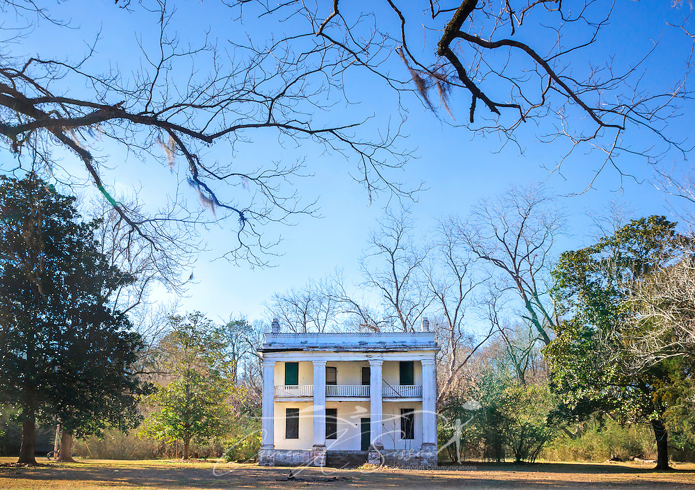 "The former slave quarters of Kirk-View Mansion are pictured, Feb. 7, 2015, at Old Cahawba Archaeological Park in Orrville, Alabama. The home was built for the Kirkpatrick family but was burned down in 1935. The slave quarters were originally built behind the mansion. Cahaba, also known as ""Old Cahawba,"" was Alabama's state capital from 1819-1826 but was abandoned after the Civil War. It is now considered a ghost town. It is located in Dallas County near Selma, Alabama. (Photo by Carmen K. Sisson/Cloudybright)"