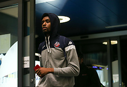 Levi Bradley of Bristol Flyers arrives at the arena - Photo mandatory by-line: Arron Gent/JMP - 02/11/2019 - BASKETBALL - Surrey Sports Park - Guildford, England - Surrey Scorchers v Bristol Flyers - British Basketball League Cup
