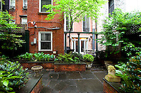 Courtyard at 11 Gramercy Park South
