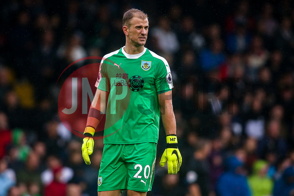 Joe Hart of Burnley - Mandatory by-line: Robbie Stephenson/JMP - 26/08/2018 - FOOTBALL - Craven Cottage - Fulham, England - Fulham v Burnley - Premier League