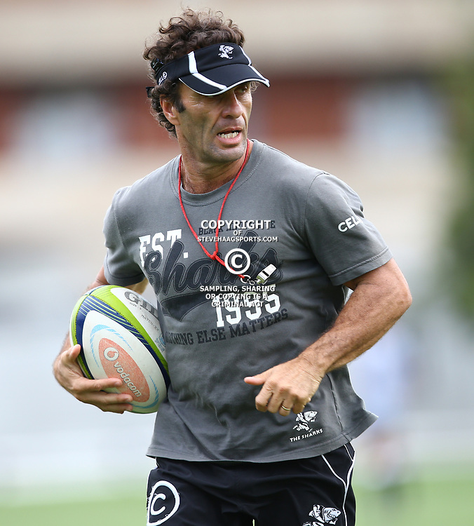 DURBAN, SOUTH AFRICA - MARCH 24:  during the Cell C Sharks training session at Growthpoint Kings Park on March 24, 2015 in Durban, South Africa. (Photo by Steve Haag/Gallo Images)