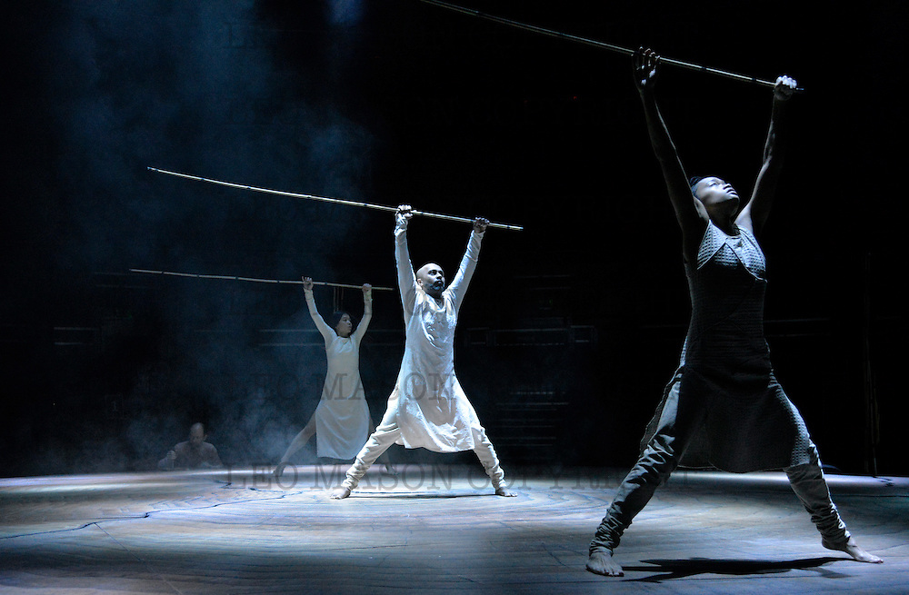 11.01.2016 Akram  Khan Company UNTIL THE LIONS at Roundhouse  London UK  Performed by Akram Knan Ching-Ying Chiem & Christine Joy Ritter