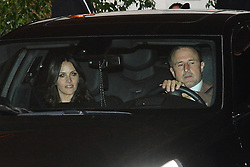 David Arquette and Christina McLarty Leave Jennifer Anistons 50th Birthday Party. 10 Feb 2019 Pictured: David Arquette, Christina McLarty. Photo credit: MEGA TheMegaAgency.com +1 888 505 6342