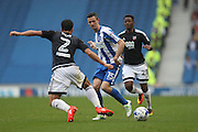 Brighton & Hove Albion winger Jamie Murphy (15) during the EFL Sky Bet Championship match between Brighton and Hove Albion and Brentford at the American Express Community Stadium, Brighton and Hove, England on 10 September 2016.
