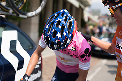 Result confirmed, Megan Guarnier is the 2016 Giro Rosa Champion after the final stage of the Giro Rosa 2016 on 10th July 2016. A 104km road race starting and finishing in Verbania, Italy.