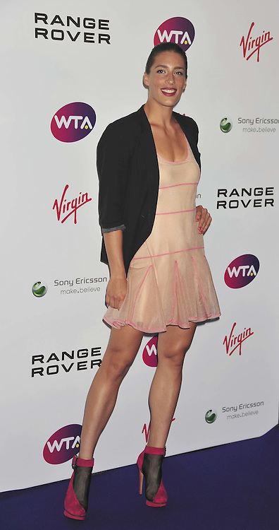Andrea Petkovic WTA Pre-Wimbledon Party, The Roof Gardens, Kensington High Street, London, UK, 16 June 2011:  Contact: Rich@Piqtured.com +44(0)7941 079620 (Picture by Alan Roxborough)
