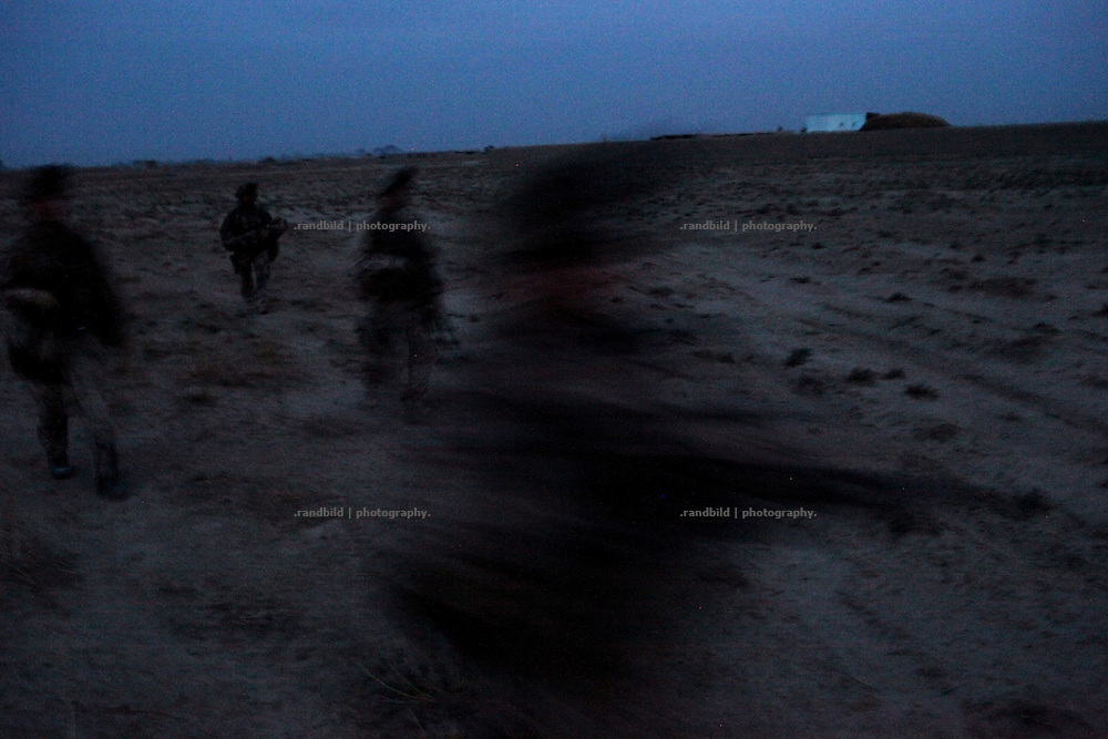 After an unmanned drone has landed irregularly in Nawabad a platoon went spontaneous out at dusk to rescue the surveillance device. In late October 2011 Kunduz based 3.Task Force started a several days operation in and around Nawabad (District Chahar Darah), west of Kunduz, northern Afghanistan. During the Operation Orpheus about 100 german infantery soldiers rolled out for patrols through the town and surrounding areas, which were expected as a retreat zone of insurgents.