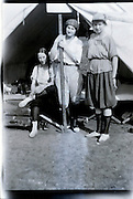 girls camping 1920s USA