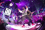 performing at the iHeartRadio Music Festival in Las Vegas, Nevada on Sepembter 20, 2014.