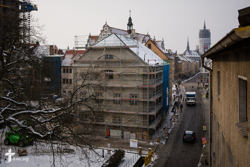 An exterior view of the Old Latin School on Thursday, Jan. 30, 2014, in Wittenberg, Germany. LCMS Communications/Erik M. Lunsford