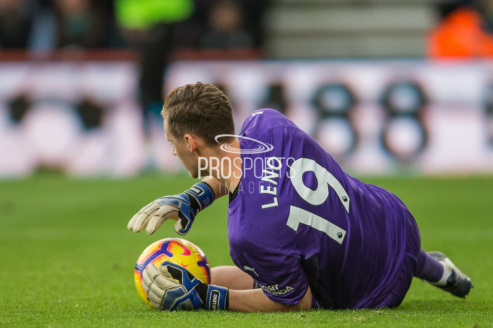 Bernd Leno (GK) (Arsenal) saves the ball during the Premier League match between Bournemouth and Arsenal at the Vitality Stadium, Bournemouth, England on 25 November 2018.