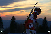 "Fuyuko Suzuki (JPN), <br /> FEBRUARY 14, 2014 - Biathlon : <br /> Women's 15km Individual<br /> at ""LAURA"" Cross-Country Ski & Biathlon Center <br /> during the Sochi 2014 Olympic Winter Games in Sochi, Russia. <br /> (Photo by Yohei Osada/AFLO SPORT) [1156]"