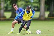 Forest Green Rovers Drissa Traore during the Forest Green Rovers Training at the Cirencester Agricultural College, Cirencester, United Kingdom on 12 July 2016. Photo by Shane Healey.