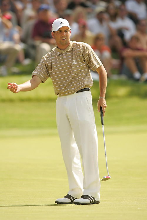 Sergio Garcia..2004 EDS Byron Nelson Championship.TPC at Las Colinas.Irving, TX.Final Round.Saturday, May 15, 2004..photograph by Darren Carroll..