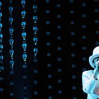 Metepec, Mex.- Caf&eacute; Tacuba ofreci&oacute; el dia de ayer un concierto en el parque La Providencia, como parte de la promoci&oacute;n de su nuevo material discogr&aacute;fico SiNo. Agencia MVT / Arturo Rosales Ch&aacute;vez. (DIGITAL)<br /> <br /> NO ARCHIVAR - NO ARCHIVE