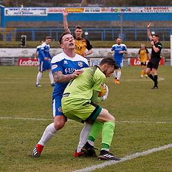 Cowdenbeath v Annan Athletic, Scottish League Two, 16 February 2019