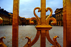 The Palace of Versailles started out as a hunting lodge built in 1624 for King Louis XIII.