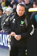 Picture by Paul Chesterton/Focus Images Ltd.  07904 640267.19/11/11.Norwich Manager Paul Lambert before the Barclays Premier League match at Carrow Road stadium, Norwich.