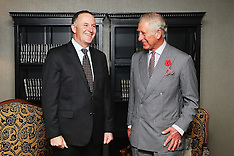Auckland-Royals, Prince Charles meets with Party Leaders