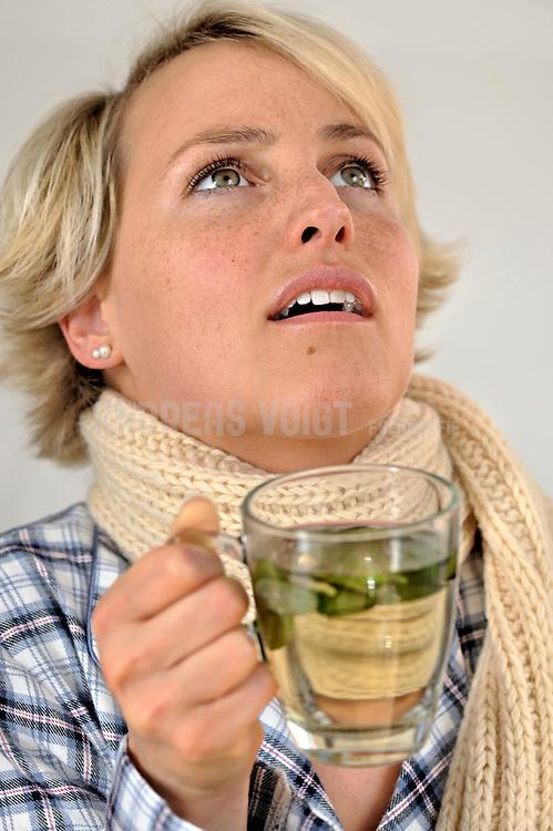 Erkältung, Husten, Schnupfen, Heiserheit
