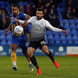 Shrewsbury Town v Peterborough United