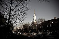 2011 February 12: Franklin Street. Chapel Hill, NC