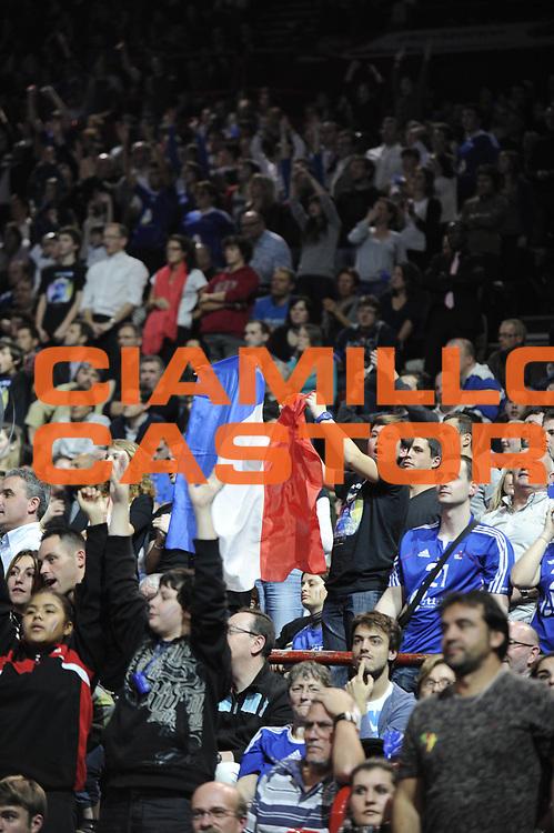 DESCRIZIONE : France Hand Equipe de France Bercy Paris GIOCATORE : Ambiance SQUADRA : France DATA : 2012-01-14CATEGORIA : SPORT : HandBall AUTORE : AGENZIA CIAMILLO & CASTORIA/G.Ciamillo