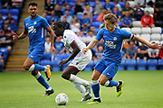 Peterborough United midfielder Alex Woodyard (4) during the Pre-Season Friendly match between Peterborough United and Bolton Wanderers at London Road, Peterborough, England on 28 July 2018. Picture by Nigel Cole.