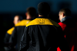 Wasps during training ahead of the European Challenge Cup fixture against SU Agen - Mandatory by-line: Robbie Stephenson/JMP - 18/11/2019 - RUGBY - Broadstreet Rugby Football Club - Coventry , Warwickshire - Wasps Training Session