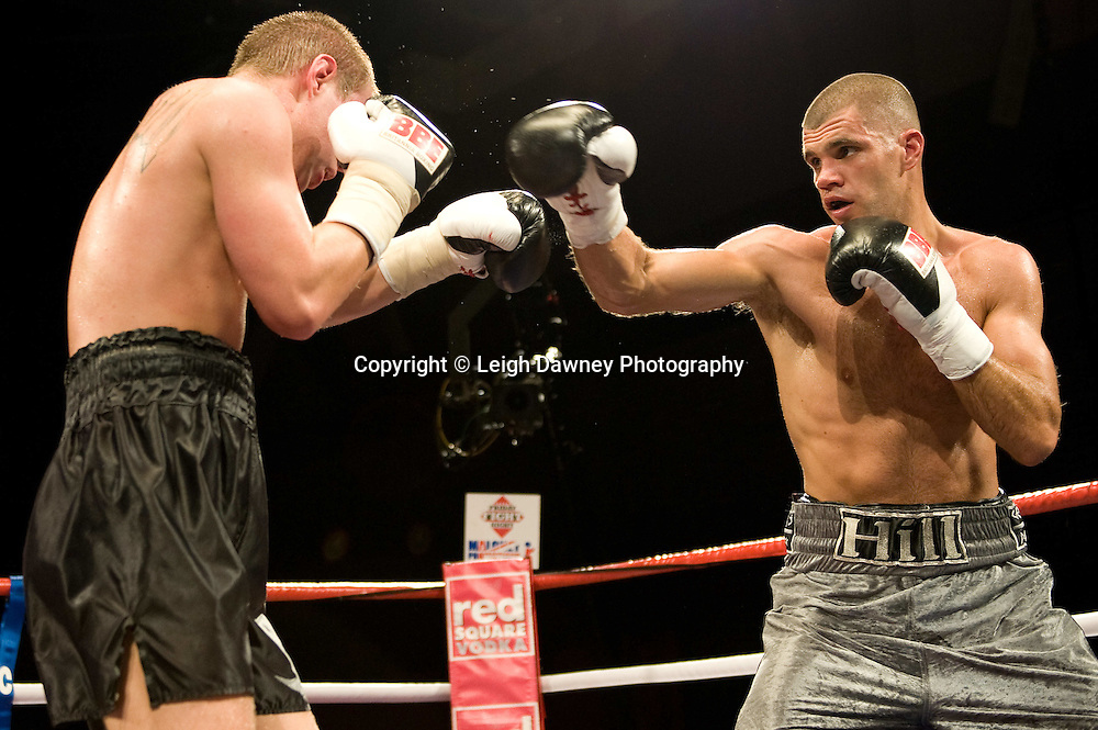 Tony Hill defeats Alex Spitko at Brentwood Centre 22nd January 2010, Frank Maloney Promotions,Credit: © Leigh Dawney Photography
