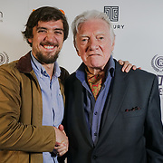 London, England, UK. 25th September 2017.Louis Lagayette,Marilena is a Director & Actor Alan Ford of TRENDY  attend Raindance Film Festival Screening at Vue Leicester Square, London, UK