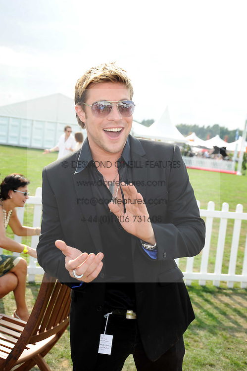DUNCAN JAMES at the Cartier International Polo at Guards Polo Club, Windsor Great Park on 27th July 2008.<br /> <br /> NON EXCLUSIVE - WORLD RIGHTS
