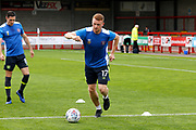 Carlisle United Defender James Brown (17) during the EFL Sky Bet League 2 match between Crawley Town and Carlisle United at the Checkatrade.com Stadium, Crawley, England on 30 September 2017. Photo by Andy Walter.