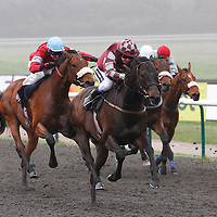 Understory and Hayley Turner winning the 4.40 race