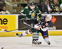 The London Knights defeated the Barrie Colts 3-2 to capture their 2nd consecutive Robertson Cup OHL Championship on Monday May 13, 2013.<br /> Photo by Terry Wilson / OHL Images.