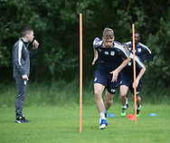 Dundee&rsquo;s Rory Loy during the warm up - Dundee FC pre-season training at Michelin Grounds, Dundee, Photo: David Young<br /> <br />  - &copy; David Young - www.davidyoungphoto.co.uk - email: davidyoungphoto@gmail.com